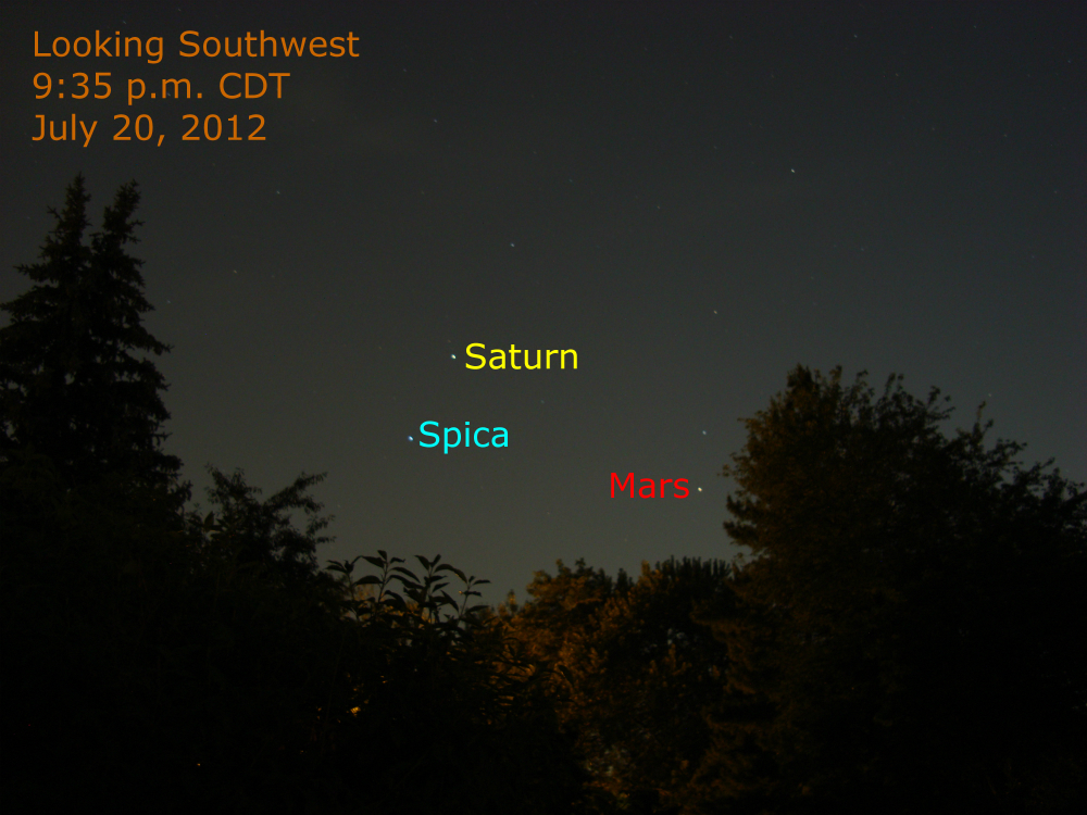 visible planets tonight saturn - photo #9