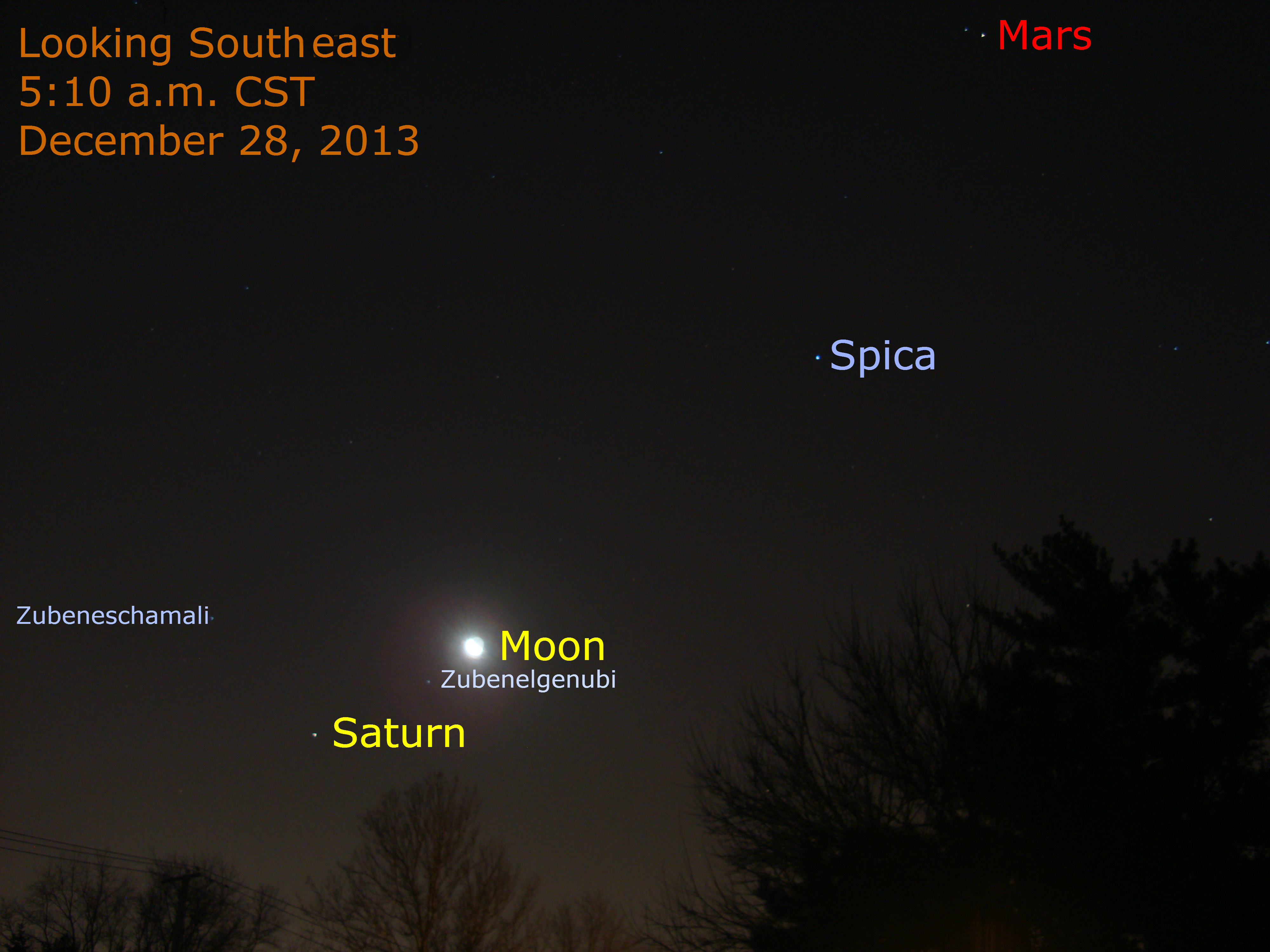 planets lining up in december - photo #5