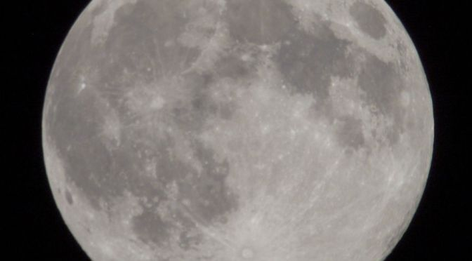 2020, October 31:  Rare Halloween Full Moon
