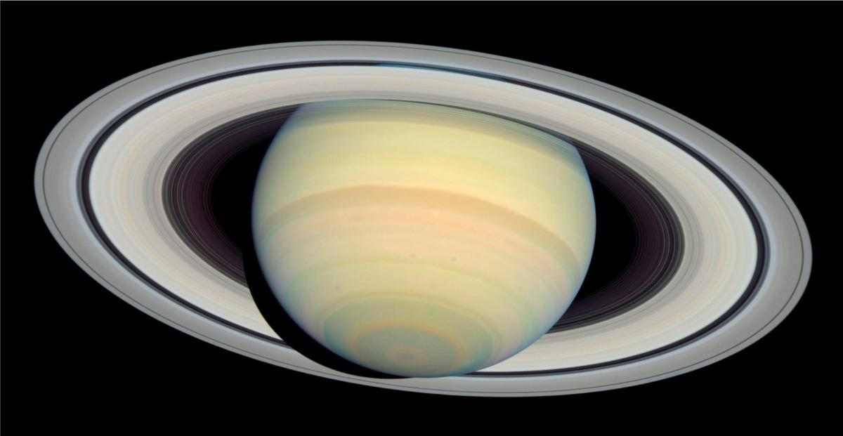 NASA's image of Saturn