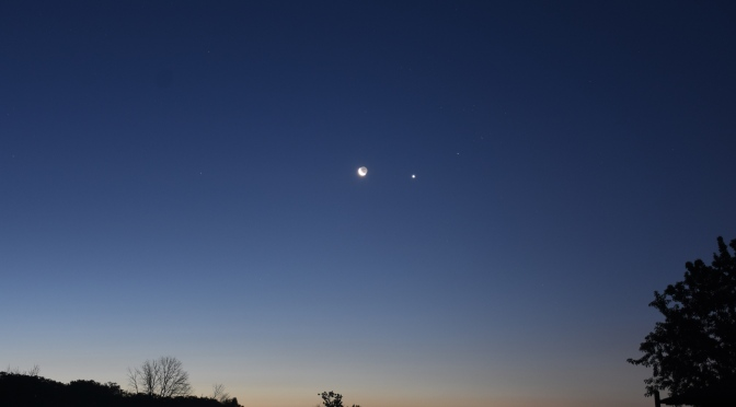 2020, September 14:  Venus, Moon Visit Beehive