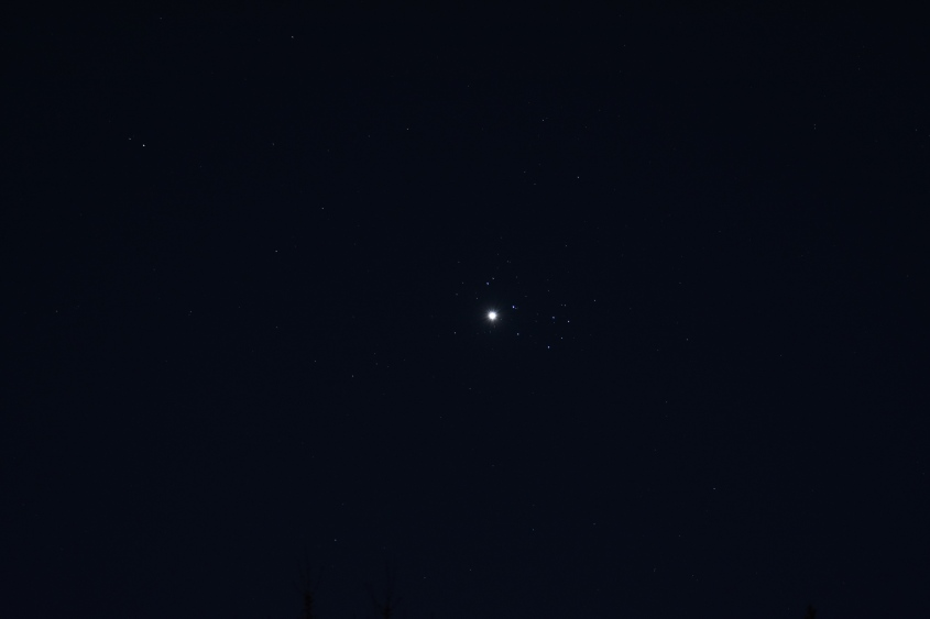 April 3 2020 Venus and Pleiades
