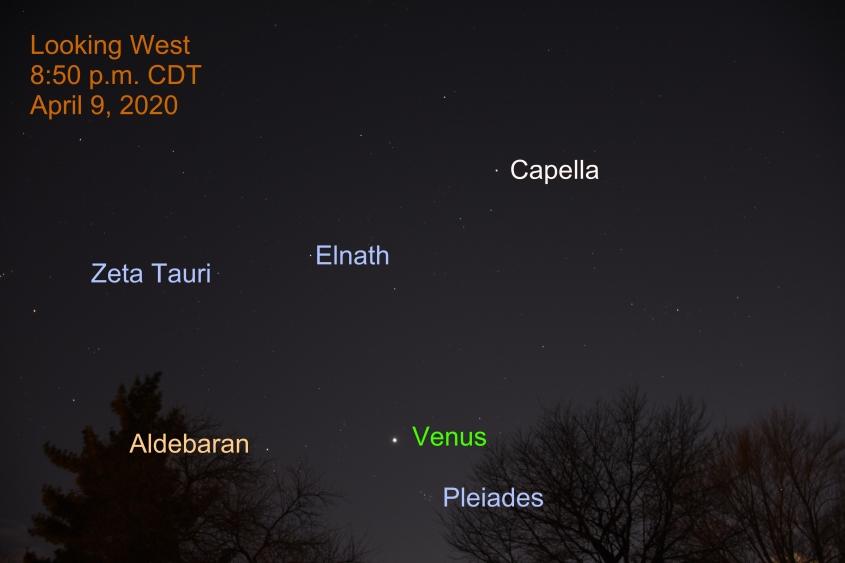 Venus in Taurus, April 9, 2020