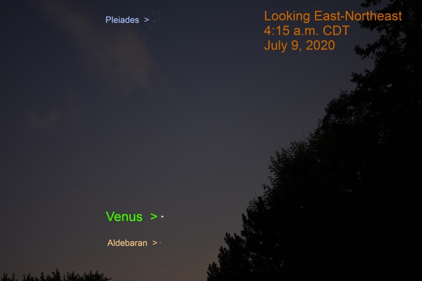 Venus in Taurus, July 9, 2020.