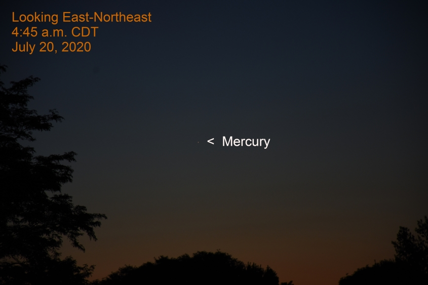 Mercury, July 20, 2020