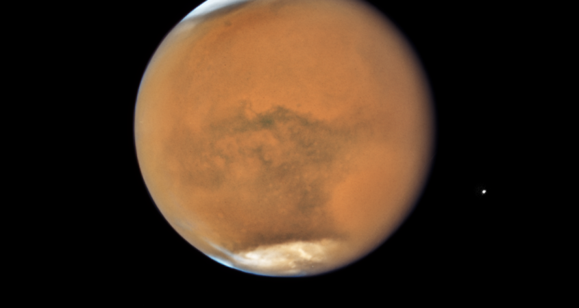Mars from Hubble during 2018
