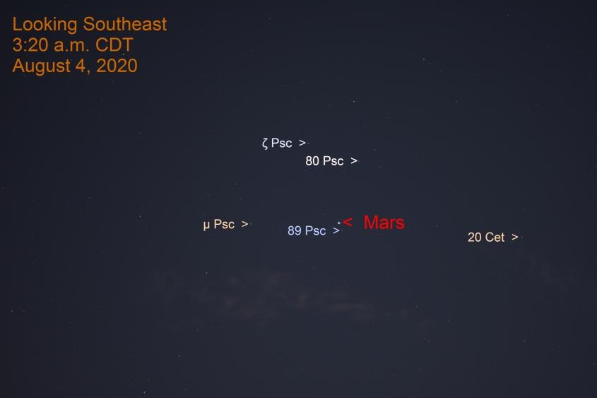 Mars in Pisces, August 4, 2020
