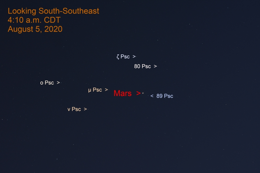 Mars in Pisces, August 5, 2020