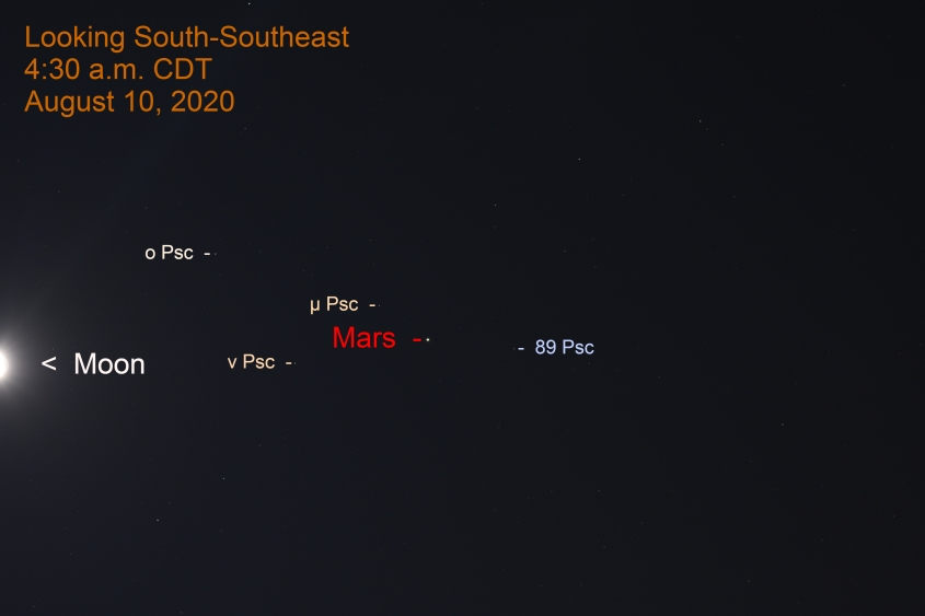 Mars in Pisces, August 9, 2020