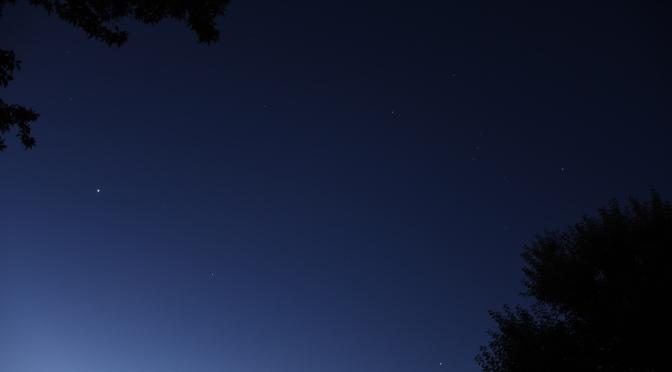 2020, November 4: Morning Star Venus, Planet Dance, Evening Planets