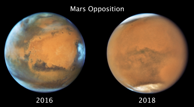2020, October: Look For Bright Mars
